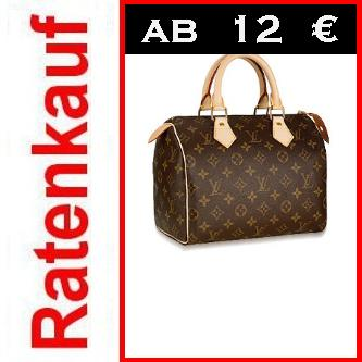 neue louis vuitton speedy 25 m41528 luxus tasche ratenkauf ebay. Black Bedroom Furniture Sets. Home Design Ideas