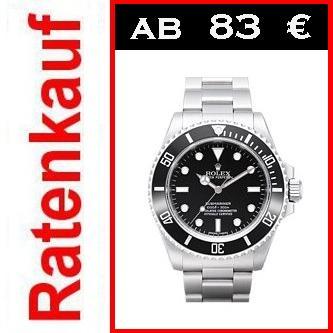 neue rolex submariner 114060 luxus uhr ratenkauf luxusuhren 12000 neue uhren ebay. Black Bedroom Furniture Sets. Home Design Ideas
