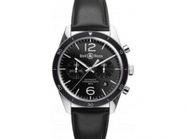 Bell & Ross Aviation BR 126 Black Bezel