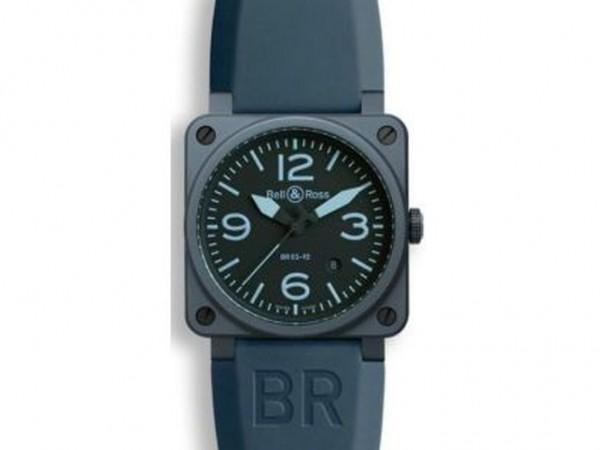 Bell & Ross Aviation BR 03-92 Blue Ceramic