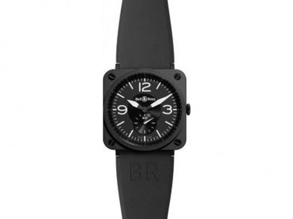 Bell & Ross Aviation BR S Quartz Black matte ceramic