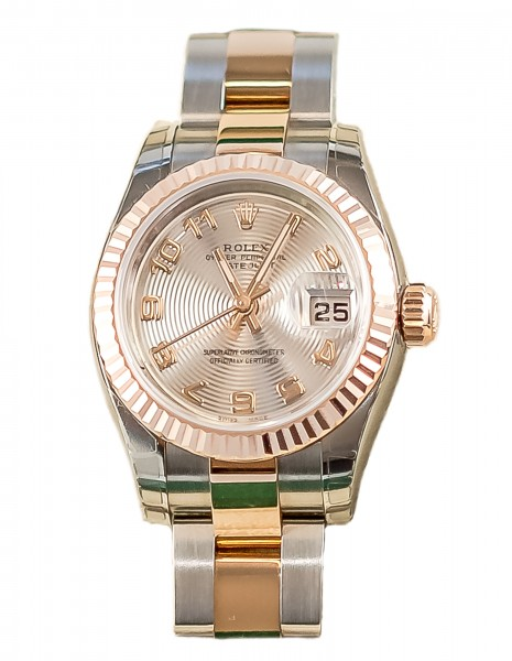 Rolex Lady-Datejust Oyster Perpetual Edelstahl/Gold