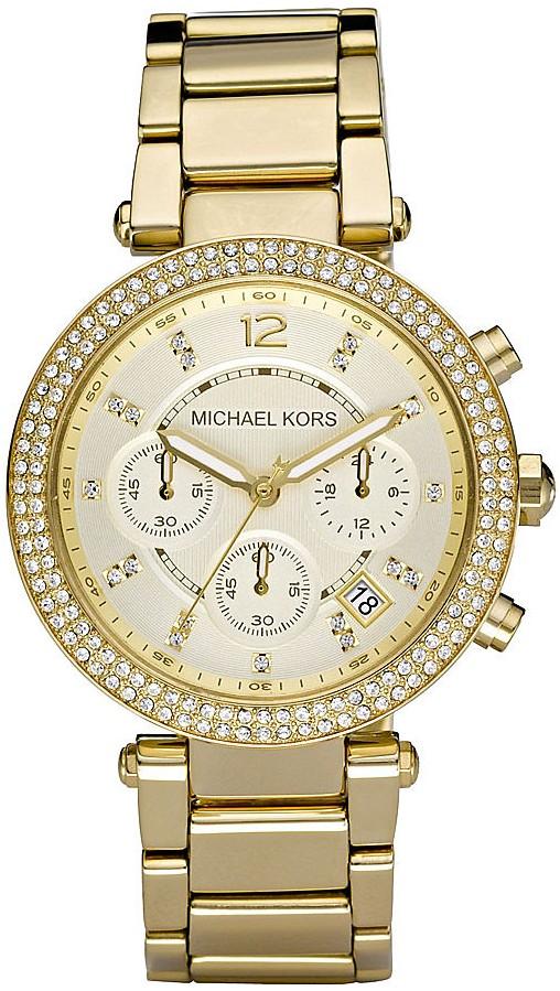 Michael Kors Chronograph Parker Glitz