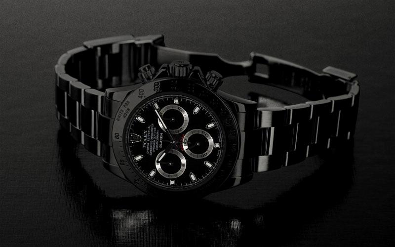 Rolex Schwarz