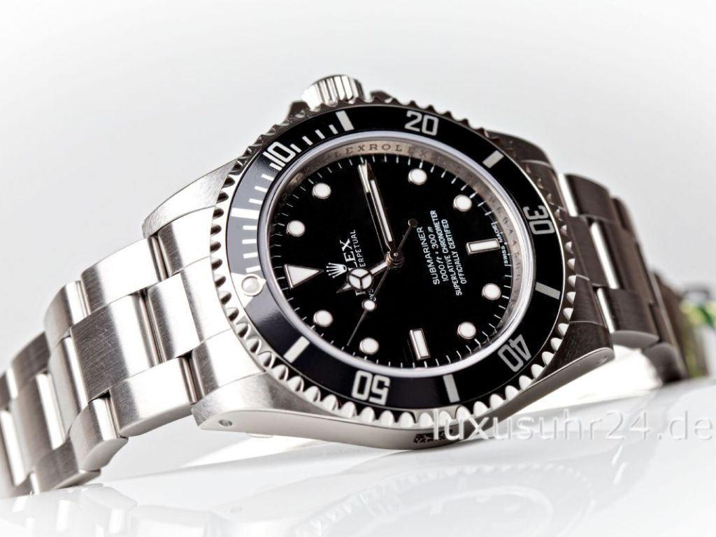 rolex submariner 14060m luxusuhr24. Black Bedroom Furniture Sets. Home Design Ideas