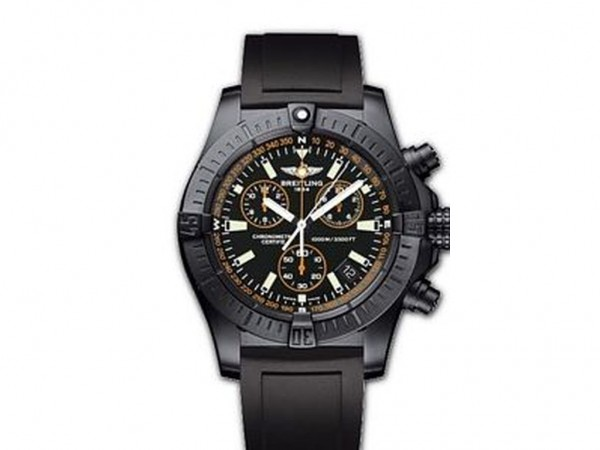Breitling Avenger Seawolf Chronograph Blacksteel Code Limited Edition