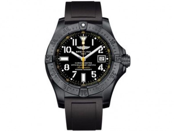 Breitling Avenger Seawolf Blacksteel Yellow Limited Edition